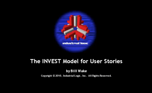 INVEST Model for User Stories