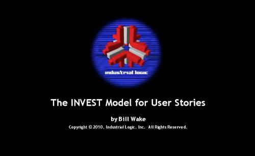 INVEST Model for User Stories